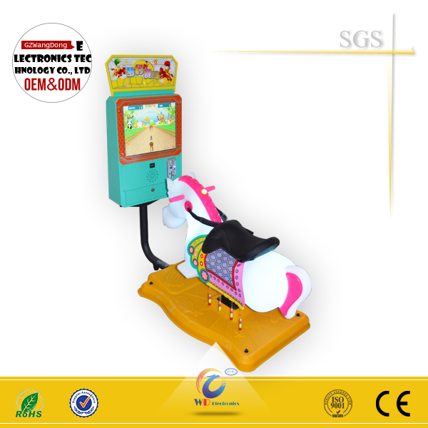 Kids Coin-operated game machine game machine children indoor rides 3D horse racing