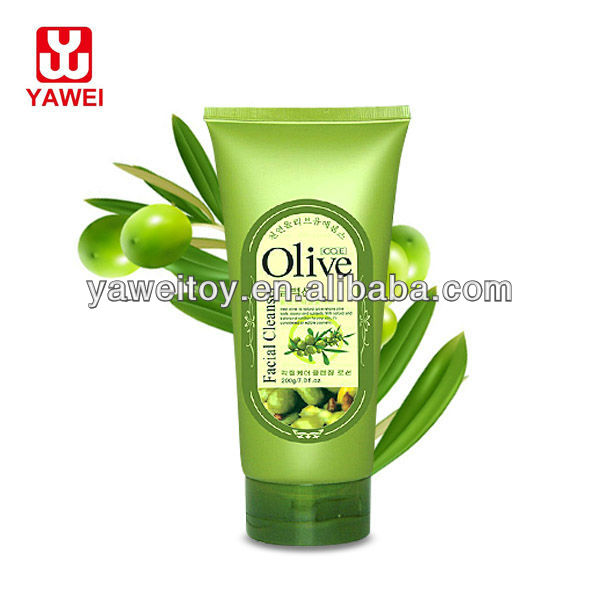 100% Olive Exfoliating Natural Facial Foam Wash