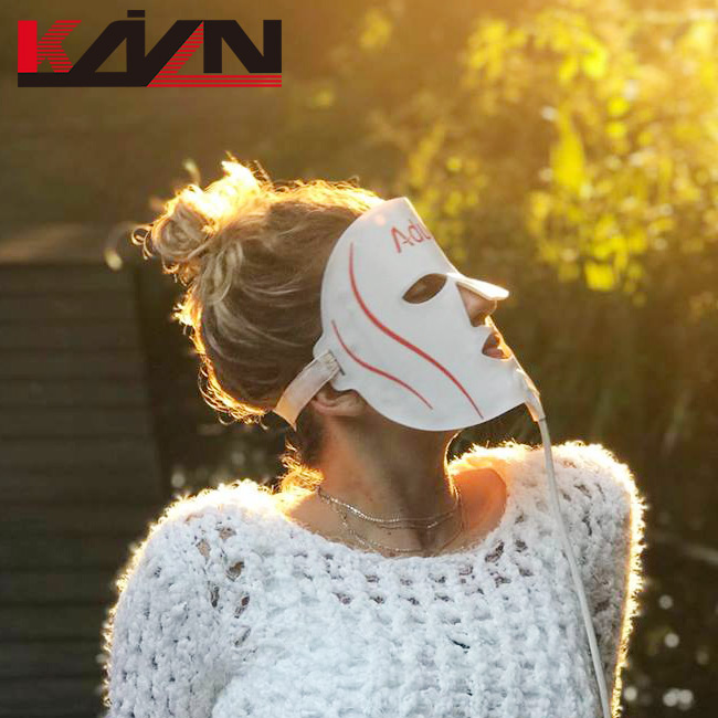 Tragbare effektive photon therapie led licht maske