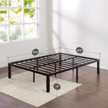Metal Bed Frame Twin Twin Xl Full Queen King Cal King