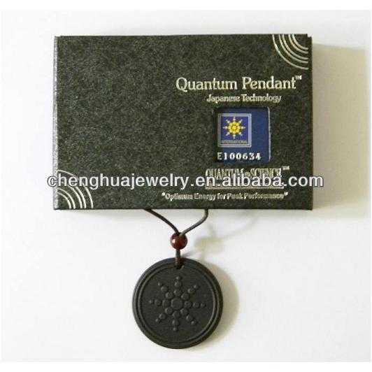 2014 Fashion Quantum Technology Volcanic Energy Pendant