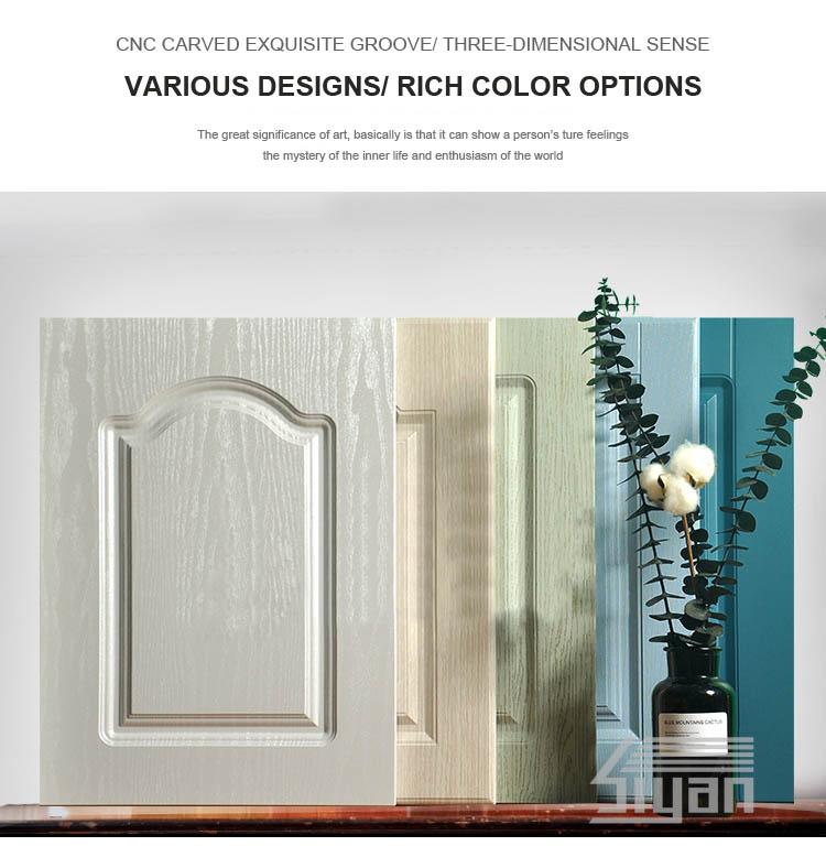 Pvc Kitchen Cabinet Doors: Pvc Vinyl Wrapped Kitchen Cabinet Doors