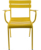 Stackable Colorful Vintage Metal Chairs Luxembourg Chair