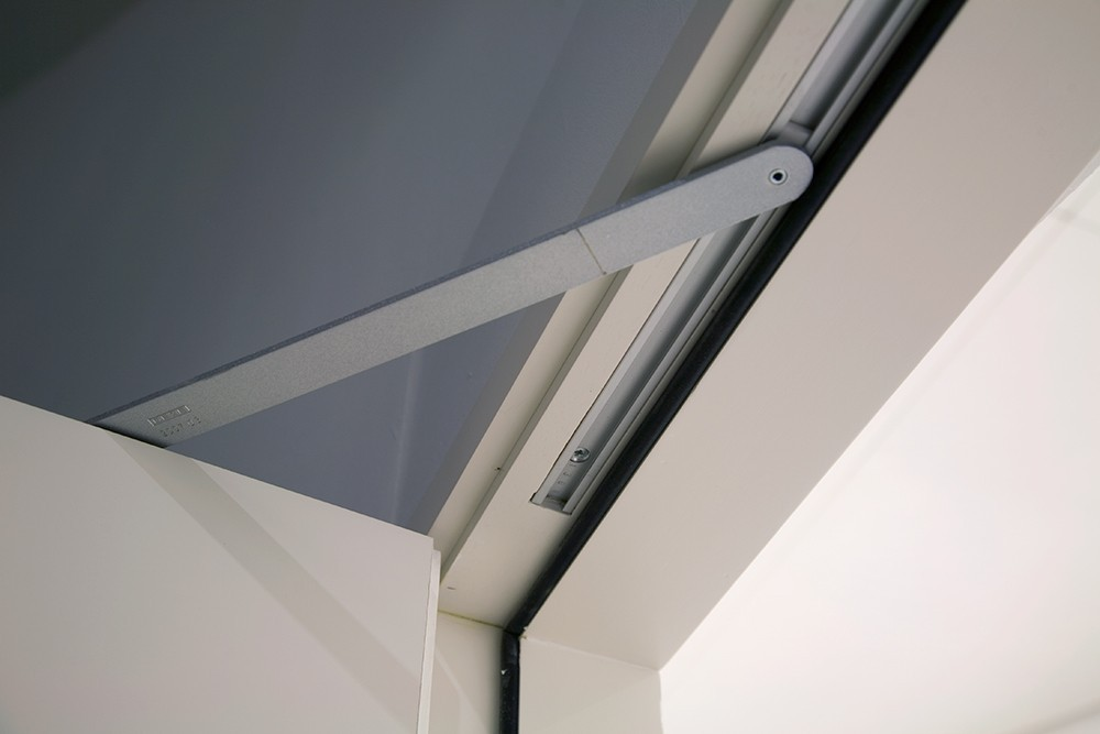 concealed overhead door closer. concealed aluminium automatic door closer overhead