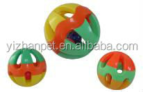 Pet Cat Dog Puppy Jingle Bell Ring Ball Round Roll Cat Teaser Toy