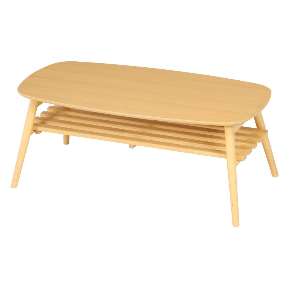 Wooden Foldable Coffee Table In The
