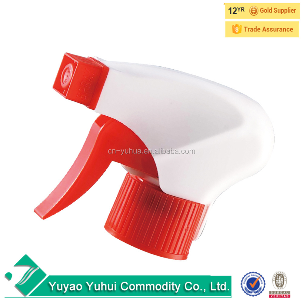 Yuyao supplier 28/410 garden usage plastic <strong>spray</strong>/stream/off nozzle pump, screw trigger sprayer, hand pressure sprayer