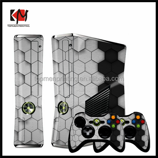 Fashionable promotional skin sticker for xbox360 controller