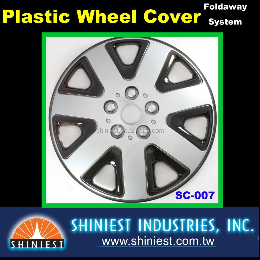 2017 Wheel's best friend Universal Durable Plastic Wheel Covers SC-007 15 inch Car Wheel rim Covers