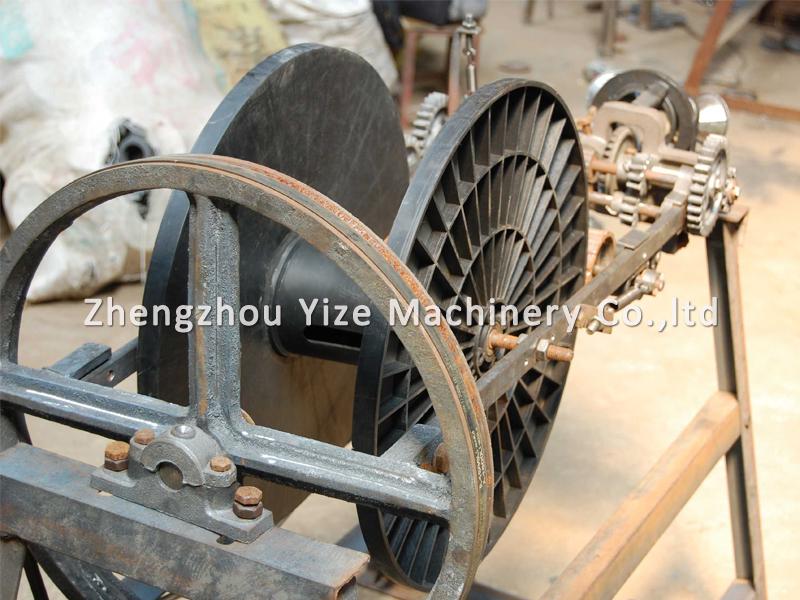 Knitting Rope Machine : Semi automatic dry straw rope braiding machine