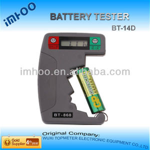 battery capacity tester/battery voltage meter BT-14D