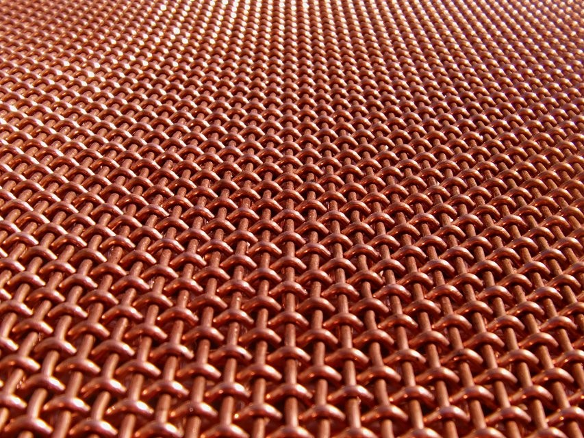 Hot Dipped Galvanized Crimped Iron/ Copper Wire Mesh For Sale!!