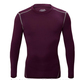 High quality Custom gym wear long sleeve compression shirt men