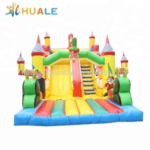 Indoor mini children's inflatable slides and playgrounds for kids