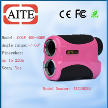 Cheap Golf Equipment Laser Golf Rangefinder with Elevation 400m Laser Rangefinder