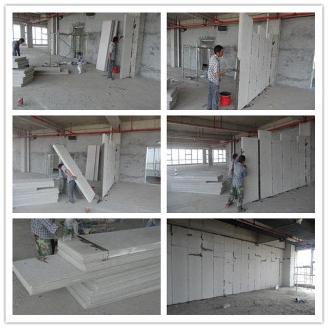 Fire Rated Sandwich Panel Polystyrene/EPS Sandwich Wall Panel for Interior/Exterior Wall
