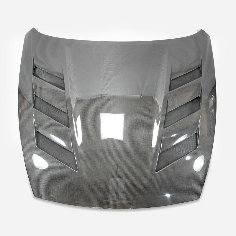 09 Onwards For 370z Z34 Ams Style Vented Glossy Carbon Engine Hood - Buy  For Nissan Carbon Fiber Hood,Carbon Fiber Hood,Air Vented Hood Product on