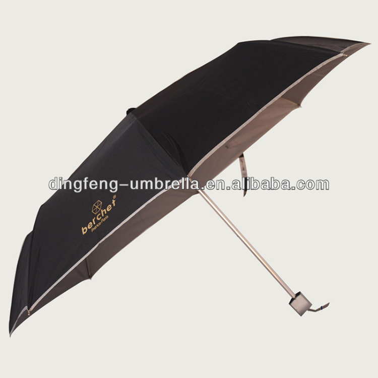 Totes Port Men's Golf Sized Automatic Best Compact Umbrella