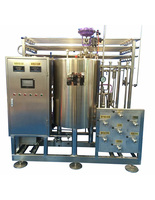 beverage flash pasteurizing plant