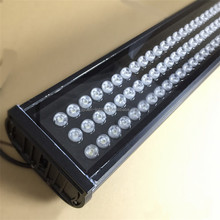 high power 216W waterproof pink led wall washer light
