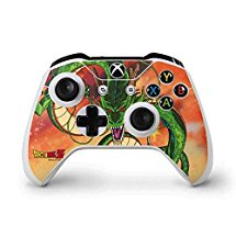 Skinit Dragon Ball Z Xbox One S Controller Skin - One Wish Shenron Design - Ultra Thin, Lightweight Vinyl Decal Protection