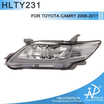 headlight for toyota camry 2006 2011 led angel eyes modify buy toyota cam. Black Bedroom Furniture Sets. Home Design Ideas