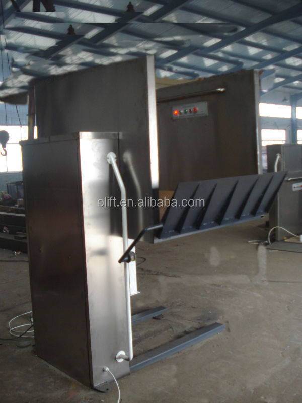 Electric Hydraulic Wheelchair Lift : Meters friendly hydraulic lifts for disabled people