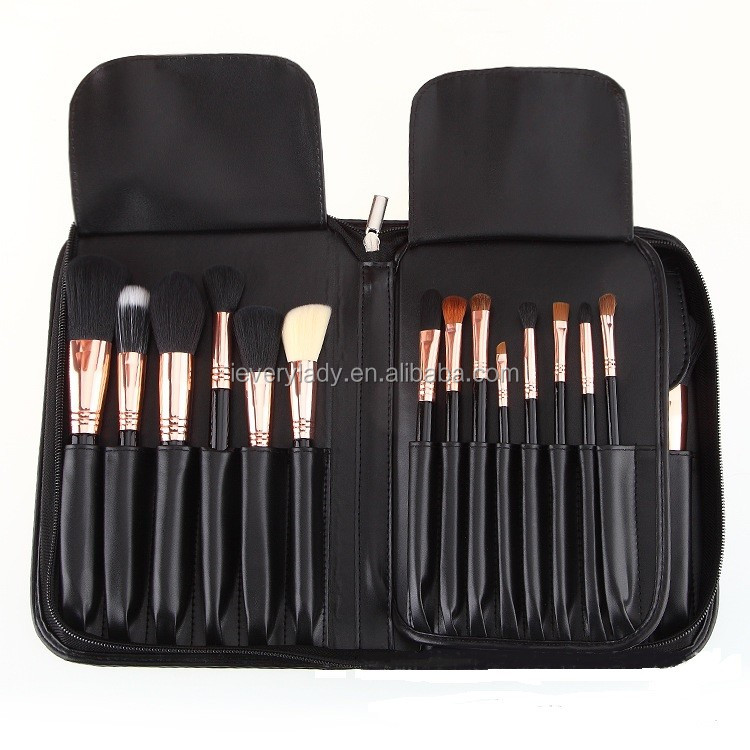 Wholesale 29pcs cosmetic brush set pincel de maquiagem with brush bag