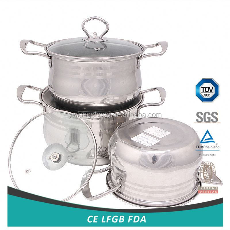 Hot promotion long lasting ceramic stock pot from manufacturer