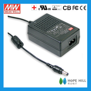 36W Meanwell GSM36B07-P1J Desktop Single Output cassette adapter