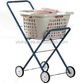 2389664da72 Laundry Clothes Basket Washing Wheels Cart Replacement Bag - Buy ...