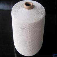 Pakistan and Egyptian importers poly cotton yarn white terry hotel face terry towel yarn for knitting