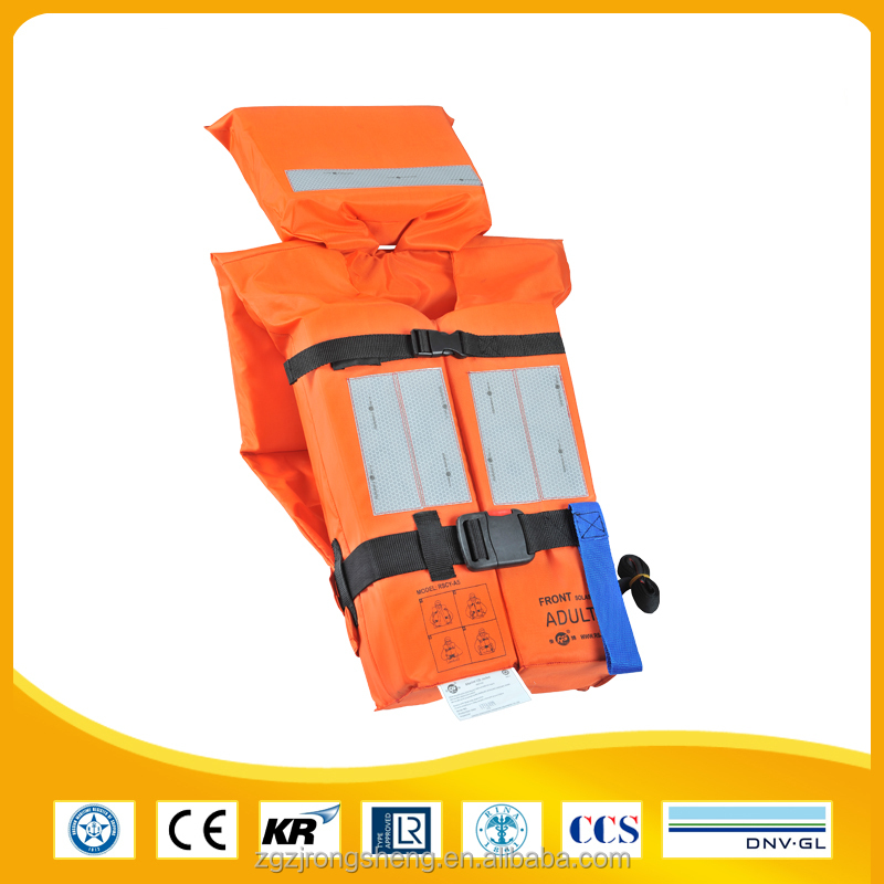 Marine Solas Med Approved Life Vest Life Jacket For Adult