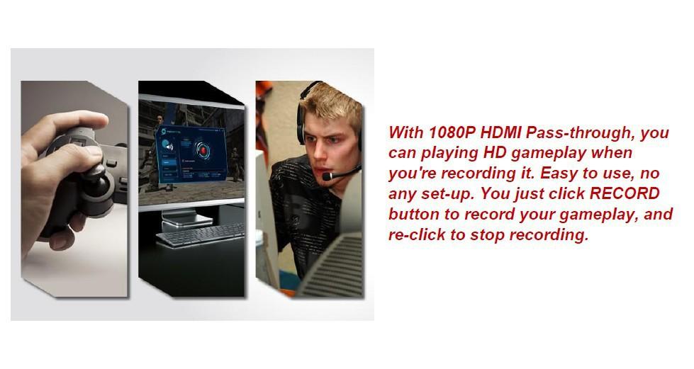 Ezcap280 1080p Hdmi Video Capture Card For Hd Game Capture From  Ps3,Ps4,Xbox One,Xbox 360 - Buy Hd Game Capture,Game Capture,Hdmi Video  Capture Card