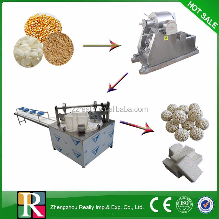 High quality puffed cereal bar making <strong>line</strong> healthy puffed rice bar cake production <strong>line</strong>