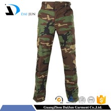 Daijun oem high quality windproof and waterproof commando men camouflage pants trousers