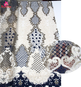Wholesale embroidery fabric swiss voile cotton french lace