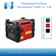 High quality 4-stroke 3KW cheap inverter gasoline generator