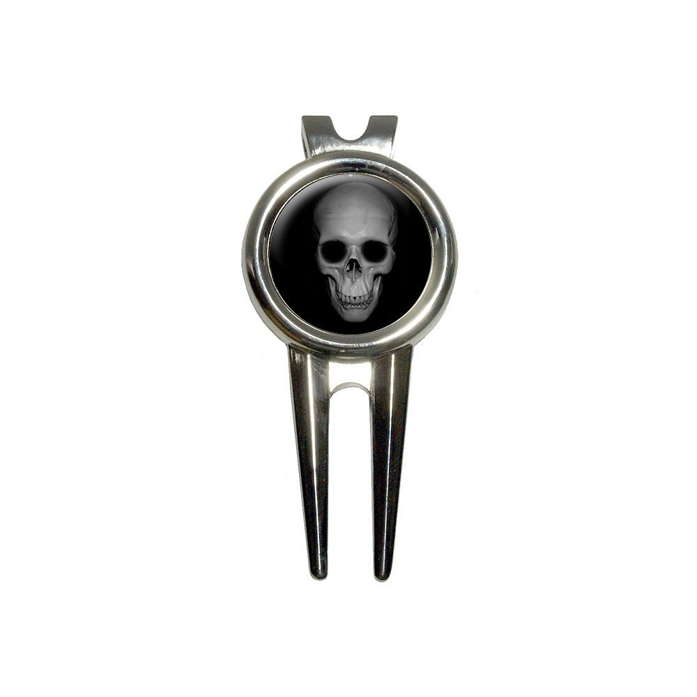 Buy Graphics And More Human Skull Front View Golf Divot Repair