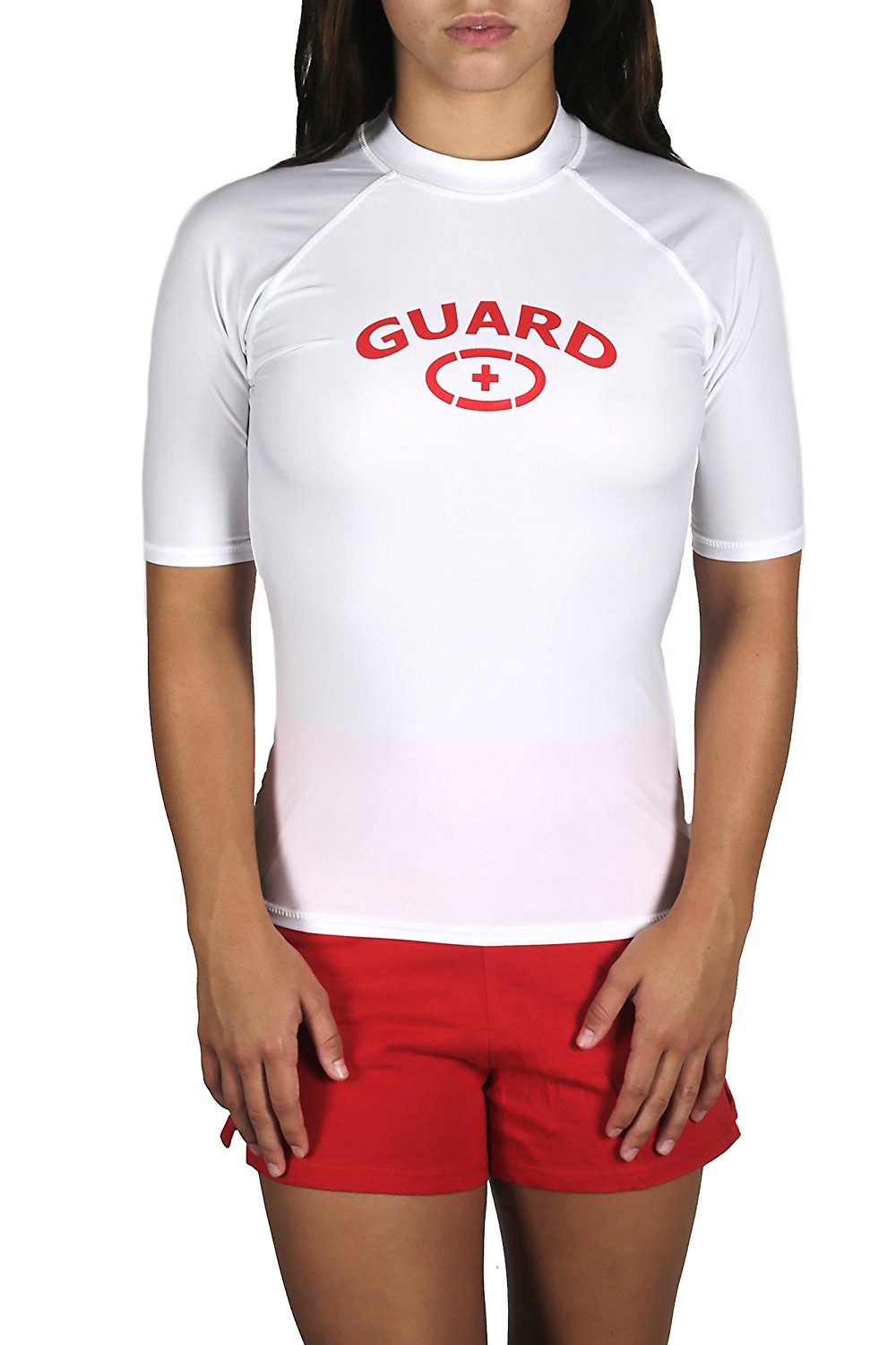Adoretex Women's Guard Short Sleeve Rashguard UPF 50+ Swim Shirt