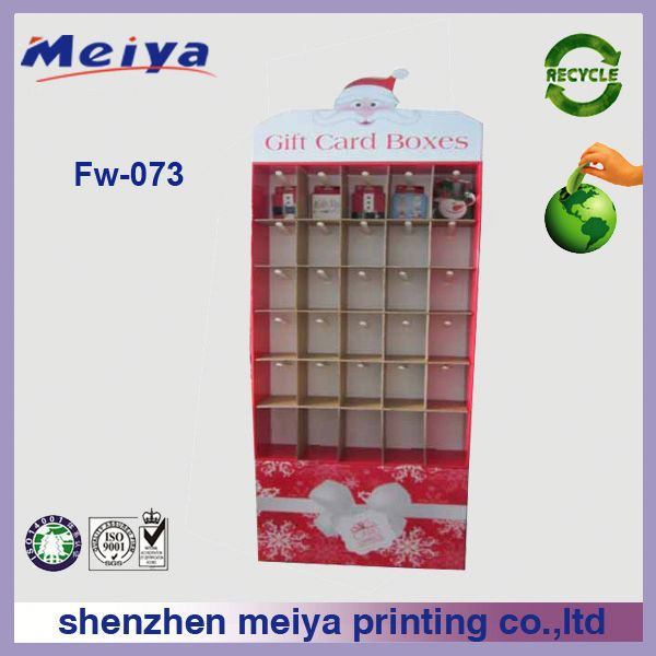 High Quality cardboard hook display for hanging small gift from China manufacture
