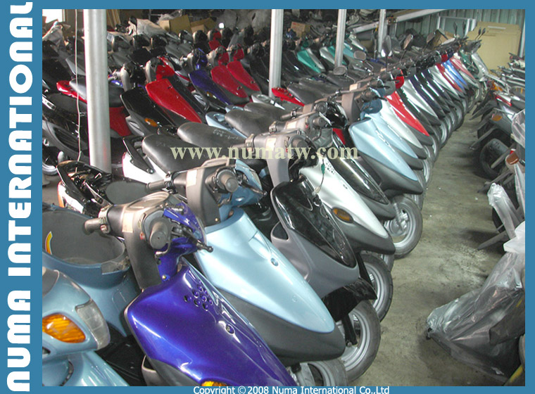 Used and Reconditioned Scooters