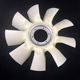 Cooling System Plastic Fan blade for Truck Model Engine cooling Fan Blade