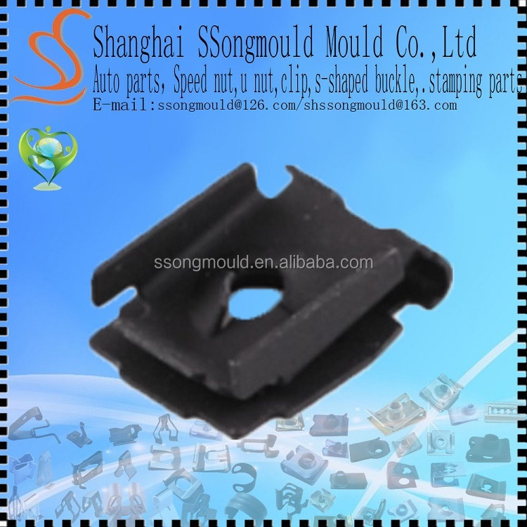 custom u clip nut,spring clip nut,sheet metal nut clip
