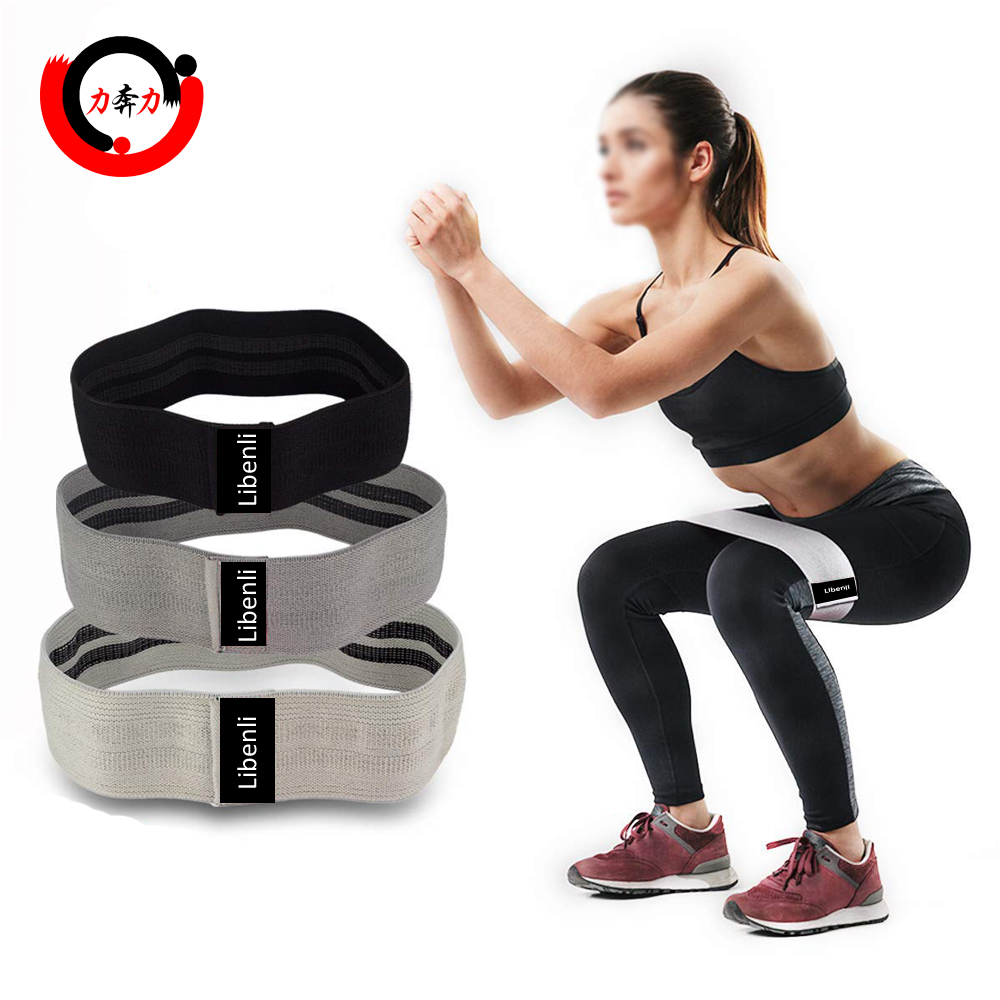 Fitness Loop Circle Set Beute Widerstand Workout Hüfte Übungsbänder