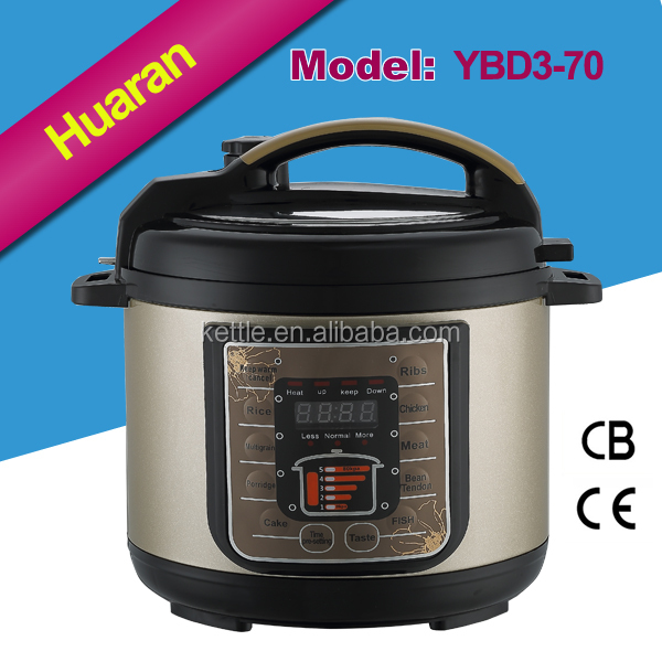 HUARAN 2016 electric high pressure cooker 220v/110v CE CB UL simple cooking