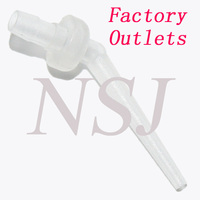 Disposable dental intral oral tip for Non-eugenol temporary cement