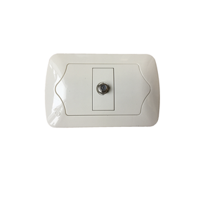 CET-EU-002 1 gang TV socket tv satellite wall socket tv crt socket