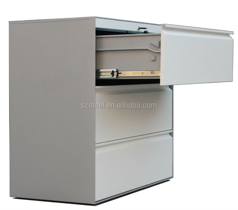 Legal Size Office Lateral Filing Cabinet,3 Drawer Steel Storage ...