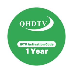 IPTV Arabic Subscription French Abonnement QHDTV 1 Year Code Europe Belgium  Netherlands Channels